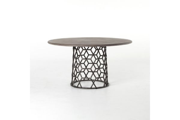 Large image of Four Hands Everett Collection Arden Dining Table - VEVR-026
