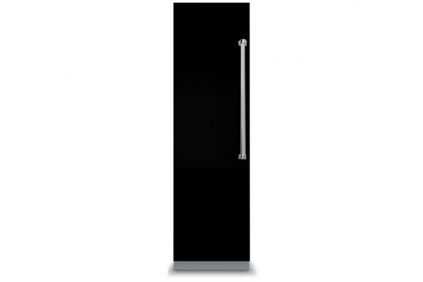 "Large image of Viking 7 Series 18"" Black Left-Hinge Fully Integrated All Freezer - VFI7180WLBK"