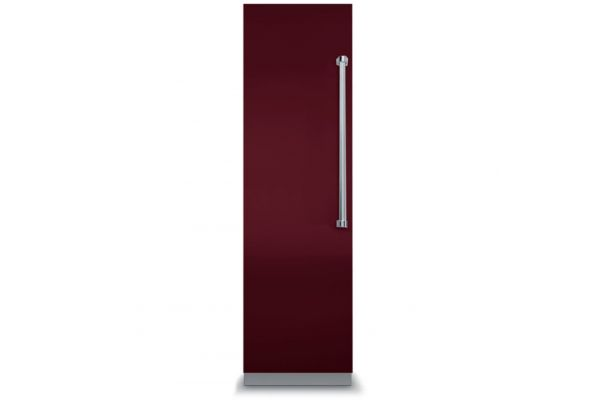 """Large image of Viking 18"""" Professional 7 Series Fully Integrated Burgundy All Freezer With 7 Series Panel - VFI7180WLBU"""