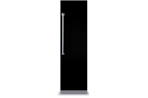 "Large image of Viking 7 Series 18"" Black Right-Hinge Fully Integrated All Freezer - VFI7180WRBK"