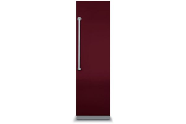 """Large image of Viking 18"""" Professional 7 Series Fully Integrated Burgundy All Freezer With 7 Series Panel - VFI7180WRBU"""