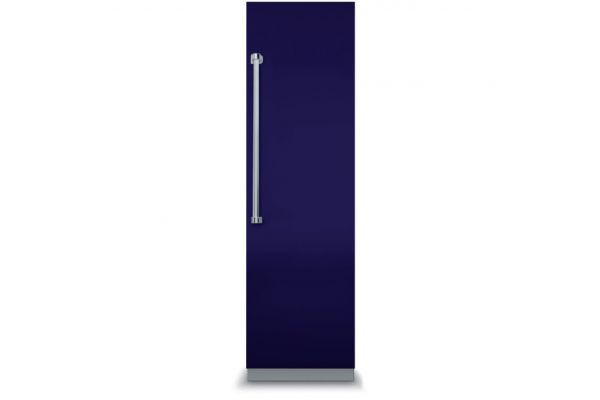 """Viking 18"""" Professional 7 Series Fully Integrated Cobalt Blue All Freezer With 7 Series Panel - VFI7180WRCB"""