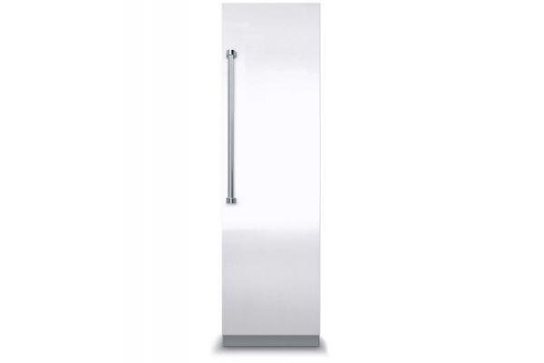 """Viking 18"""" Professional 7 Series Fully Integrated White All Freezer With 7 Series Panel - VFI7180WRWH"""