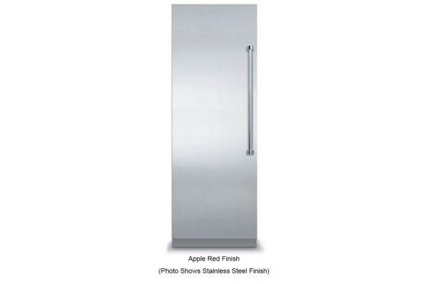 "Large image of Viking 30"" Fully Integrated Apple Red All Freezer - VFI7300WLAR"
