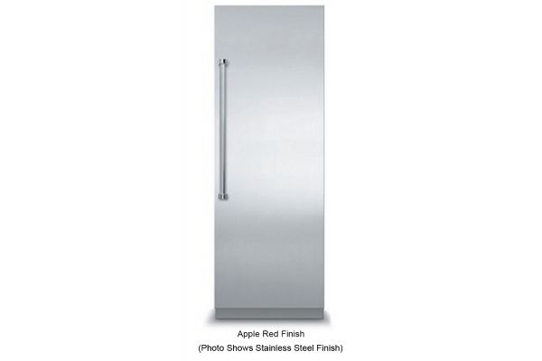 """Large image of Viking 30"""" Fully Integrated Apple Red All Freezer - VFI7300WRAR"""