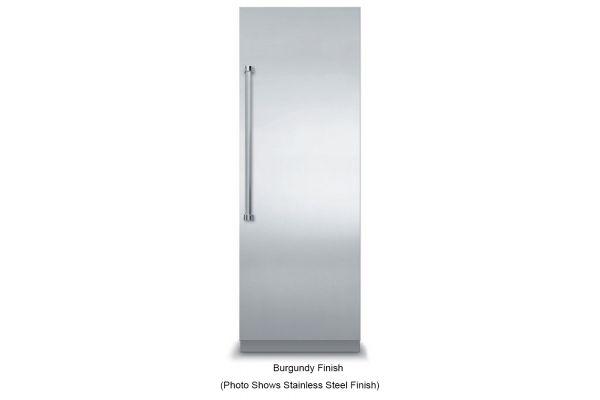 """Large image of Viking 30"""" Fully Integrated Burgundy All Freezer - VFI7300WRBU"""