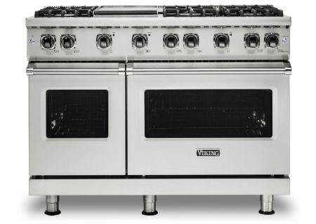 "Viking 48"" Professional 5-Series Stainless Steel Gas Range - VGR5486GSS"