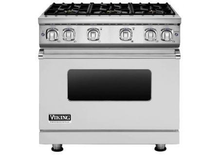 "Viking 36"" Professional 7 Series Stainless Steel Freestanding Gas Range - VGR73616BSS"