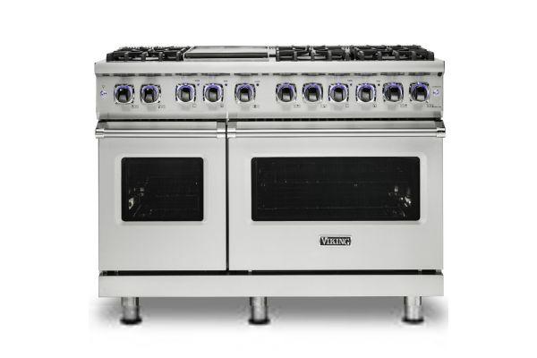 "Large image of Viking Professional 7 Series 48"" Sealed Burner Gas Range - VGR74826GSS"