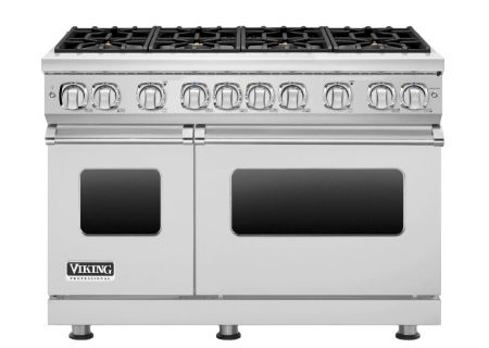"Viking 48"" Professional 7 Series Stainless Steel Freestanding Gas Range - VGR7488BSS"