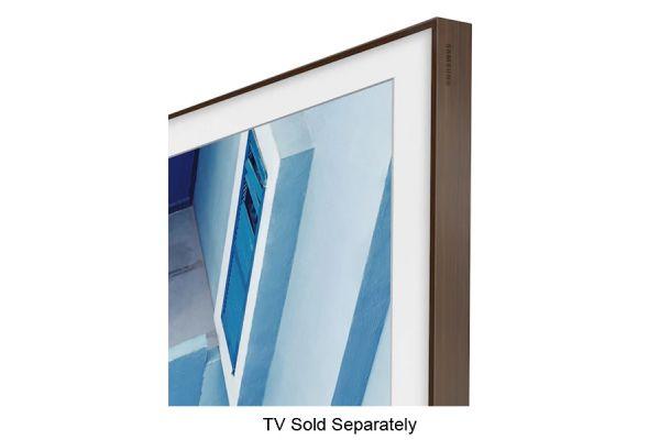"Samsung 49"" The Frame Customizable Bezel In Brown - VG-SCFN49DP/ZA"