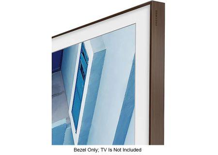 "Samsung 65"" The Frame Customizable Bezel In Brown - VG-SCFN65DP/ZA"