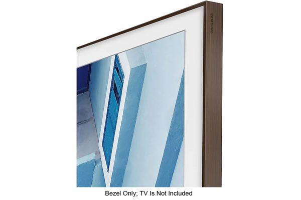"Large image of Samsung 65"" The Frame Customizable Bezel In Brown - VG-SCFN65DP/ZA"
