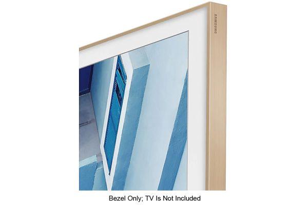 """Large image of Samsung 65"""" The Frame Customizable Bezel In Beige - VG-SCFN65LP/ZA"""
