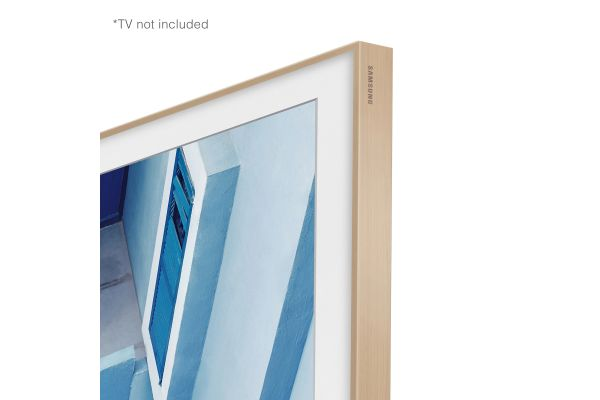 """Large image of Samsung (2020) 32"""" The Frame Customizable Bezel In Beige - VG-SCFT32BE/ZA"""