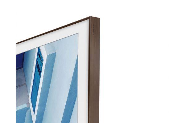 "Large image of Samsung (2020) 50"" The Frame Customizable Bezel In Brown - VG-SCFT50BW/ZA"