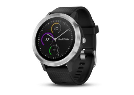 Garmin vivoactive 3 Black With Stainless Hardware GPS Smartwatch - 010-01769-01