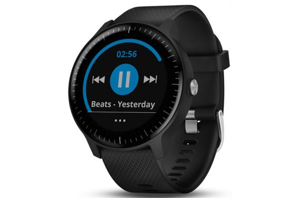 Garmin vivoactive 3 Music Black With Stainless Hardware GPS Smartwatch - 010-01985-01