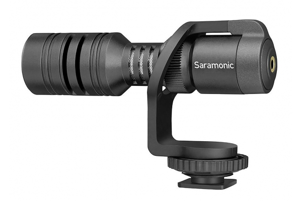 Large image of Saramonic Camera-Mountable Shotgun Microphone For DSLR, Mirrorless & Video Cameras Or Smartphones & Tablets - VMICMINI