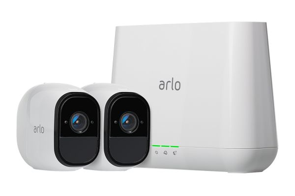 Arlo Pro Smart Security System With 2 HD Cameras - VMS4230-100NAS