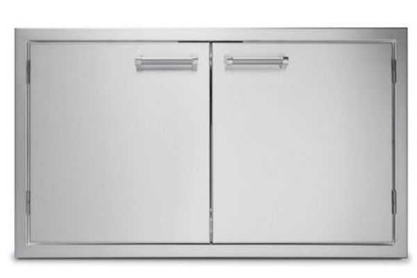 """Large image of Viking Outdoor Series 36"""" Stainless Steel Double Access Doors - VOADD5360SS"""
