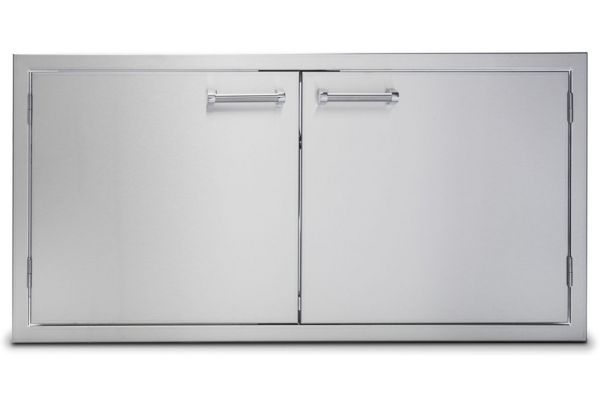 "Large image of Viking Outdoor Series 42"" Stainless Steel Double Access Doors - VOADD5421SS"