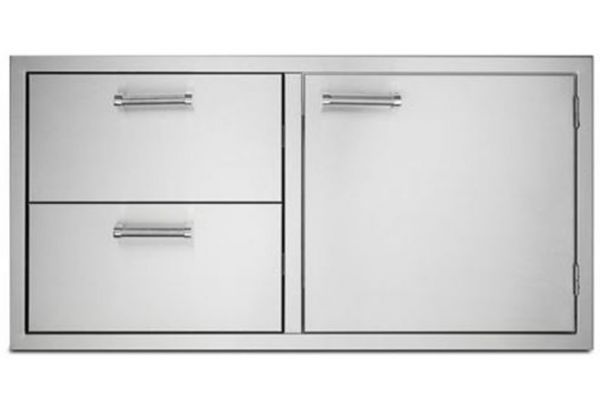 """Viking Outdoor Series 42"""" Stainless Steel Double Drawer And Access Doors - VOADDR5420SS"""
