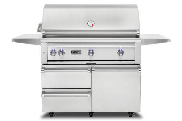 "Large image of Viking Professional 42"" Stainless Steel Natural Gas Grill - VQGFS5420NSS"