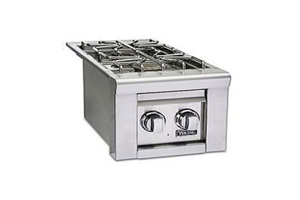 """Large image of Viking 13"""" Stainless Steel Propane Gas Double Side Burners - VQGSB5131LSS"""
