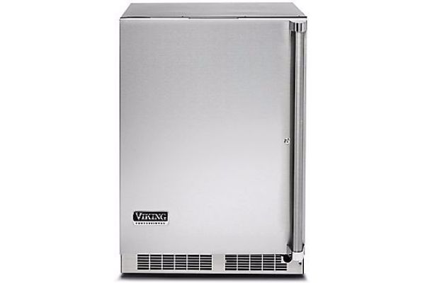 """Large image of Viking 24"""" Professional 5 Series Stainless Steel Undercounter Refrigerator - VRUO5240DLSS"""