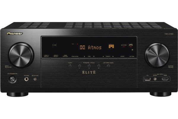 Large image of Pioneer Elite 9.2-Channel Black Network AV Receiver - VSXLX304