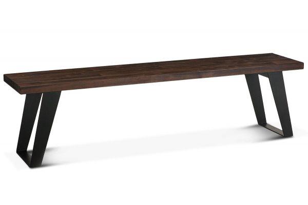 """Home Trends & Design Urban Loft 67"""" Dark Brown Bench - VUL-BN67"""