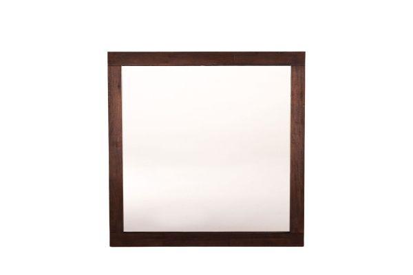 Home Trends & Design Urban Loft Dark Brown Wall Mirror - VUL-MR39