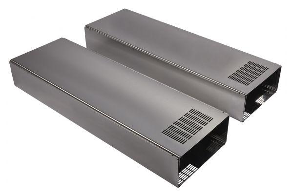 Large image of JennAir Stainless Steel Range Hood Chimney Extension Kit - W10688278