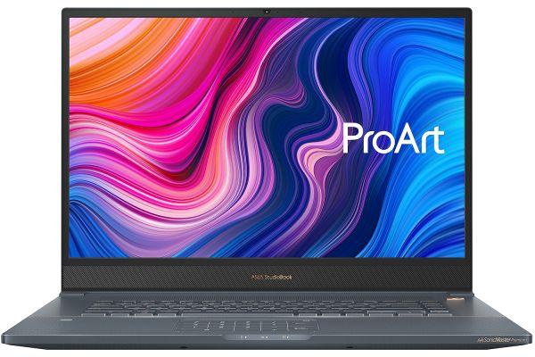 "Large image of Asus ProArt StudioBook Pro 17"" Turquoise Grey Laptop Intel i7-9750H 16GB RAM 1TB SSD, NVIDIA Quadro RTX 3000 Max-Q - W700G3T-XH77"