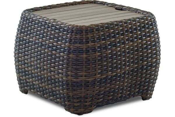 Large image of Klaussner Outdoor Mesa Canyon Collection  Rectangular End Table - W7502-REET