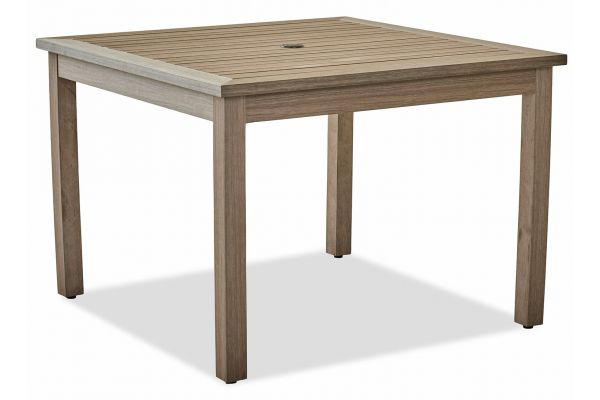 "Klaussner Outdoor Delray Collection 42"" Shadow Dining Table - W8503-DRT42"