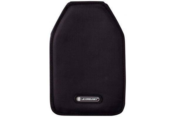Large image of Le Creuset Black Wine Cooler Sleeve - WA126L-31