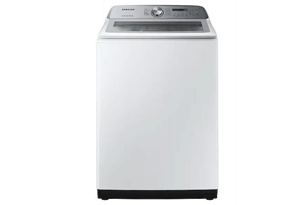 Samsung White Top Load Washer - WA50R5200AW