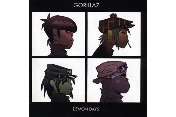 Large image of Gorillaz Demon Days Vinyl - WB5433941