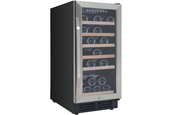 """Large image of Avanti 15"""" Stainless Frame Wine Chiller - WC3015S3S"""