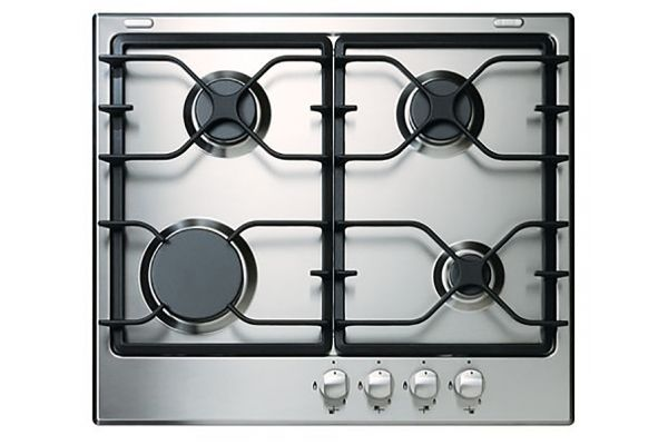 """Large image of Whirlpool 24"""" Stainless Steel Gas Cooktop With Sealed Burners - WCG52424AS"""