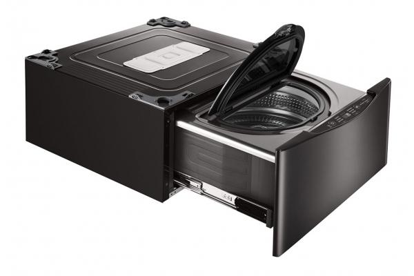 "Large image of LG 27"" Sidekick Black Steel Pedestal Washer - WD100CB"