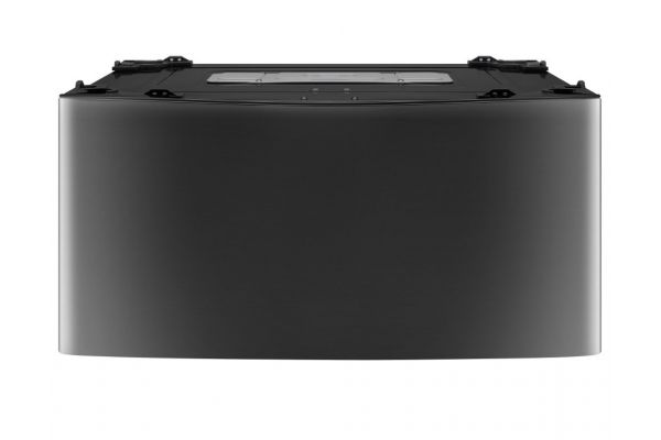 LG 1.0 Cu. Ft. Black Stainless Steel SideKick Pedestal Washer  - WD100CK