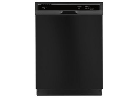 Whirlpool Heavy-Duty Black Built-In Dishwasher - WDF330PAHB