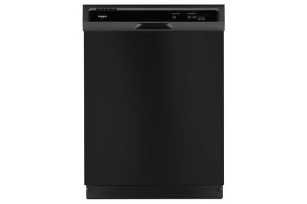 Whirlpool Heavy-Duty Black Built-In Dishwasher - WDF330PAHB