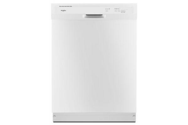 Whirlpool Heavy-Duty White Built-In Dishwasher - WDF330PAHW