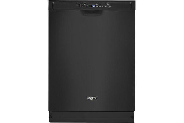 Whirlpool Black Built-In Dishwasher - WDF590SAJB