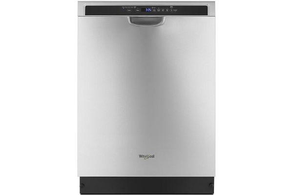 """Large image of Whirlpool 24"""" Stainless Steel Dishwasher With Third Level Rack - WDF590SAJM"""