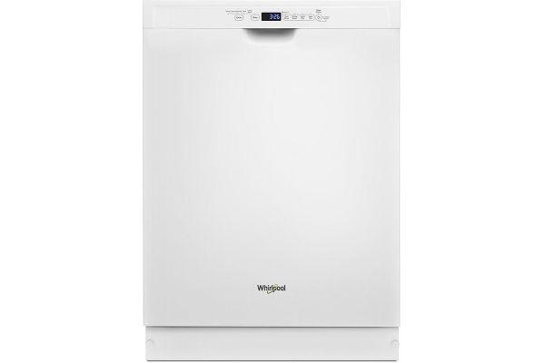Whirlpool White Built-In Dishwasher - WDF590SAJW